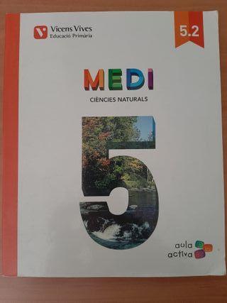 Libro de texto MEDI CIÈNCIES NATURALS 5º primaria