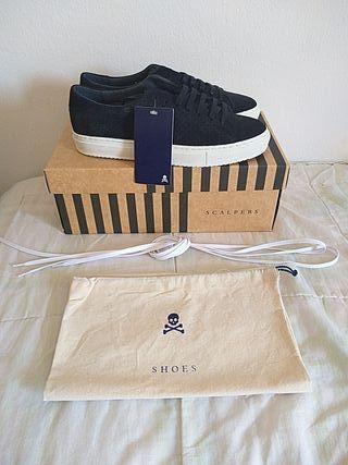 Zapatos SCALPERS nuevos para hombre DE CALIDAD