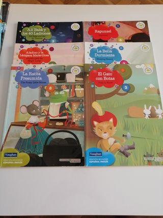 libros edición bilingüe español inglés. Vaughan