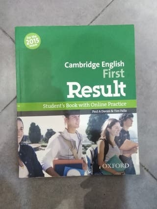 Cambridge ENGLISH first Result - Student's Book