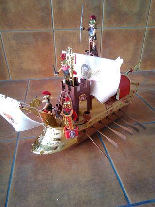 Barco romano Airgamboys.