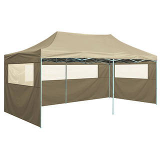 vidaXL Carpa plegable Pop-up con 4 paredes 42509