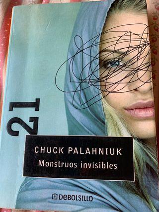 Monstruos invisibles - novela de Chuck Palahniuk