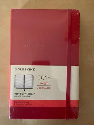 Moleskine agenda 2018
