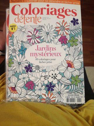 revistas colorear