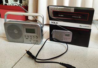 Radio portátil Schneider - precio negociable