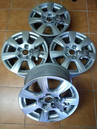 Llantas aleación 16 Audi