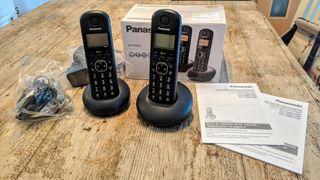 Panasonic KX-TGB212 - Telf. fijo inalámbrico dúo