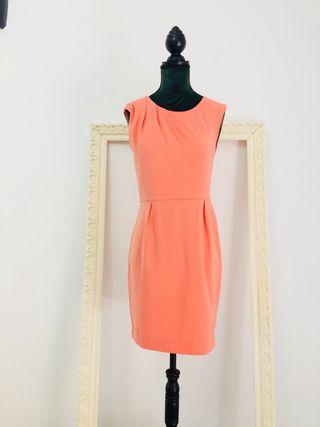 Vestido Coral Claro