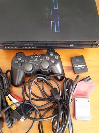 Playstation2, mando y juegos