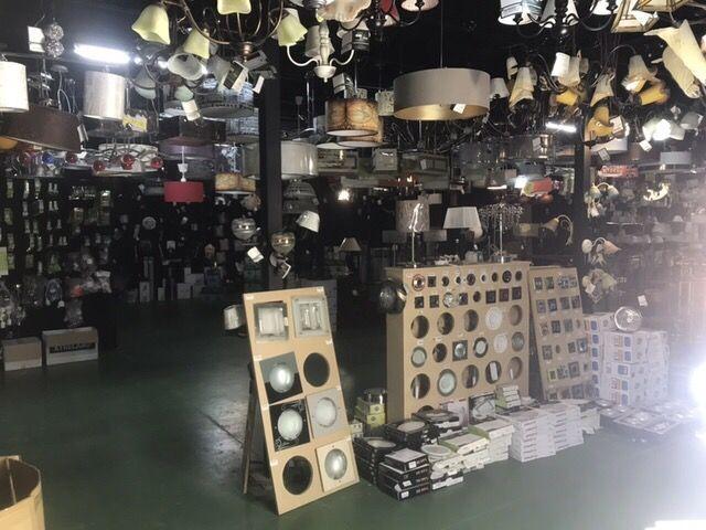 Stocks tienda iluminación