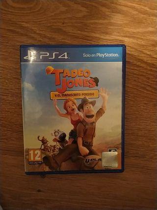 Tadeo Jones y el manuscrito perdido PS4