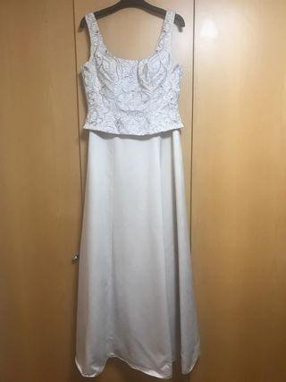 53092585d Vestido de fiesta pedreria de segunda mano en la provincia de ...