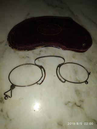 antigua montura anteojos