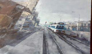 LÍQUIDO - Gomena - estación Tren
