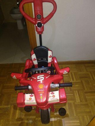 Triciclo Ferrari F1