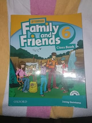 Family and Friends 6 Clase Book 9780194811699