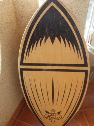 Tabla surf orilla