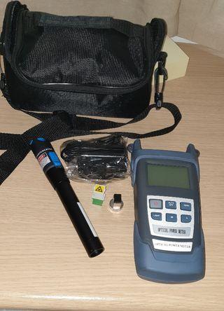 medidor óptico de potencia fibra óptica