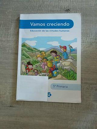 Libro de valores 5 primaria