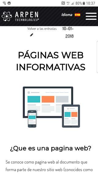 Creación página web y redes sociales !