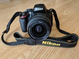 Camara Reflex DSLR Nikon D5100 + Objetivo 18-55