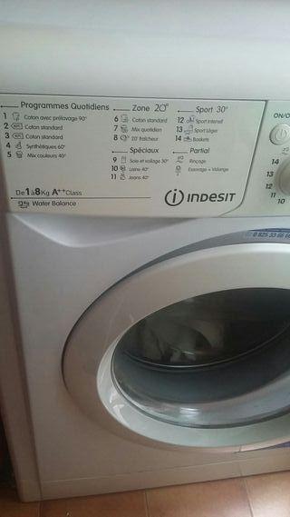 lavadora marca Indesit