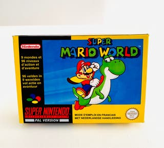 CAJA SUPER MARIO WORLD - snes