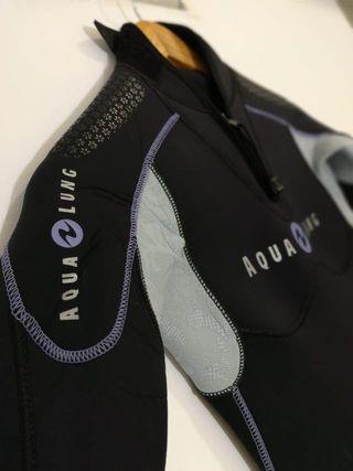 Traje buceo AquaLung balance comfort 5.5mm mujer S