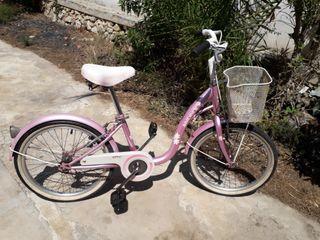 Bici MONTY Infantil Rosa