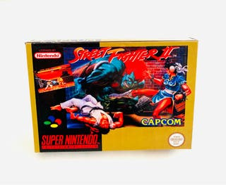 CAJA STREET FIGHTER 2 - snes