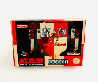 CAJA WEAPON LORD - snes