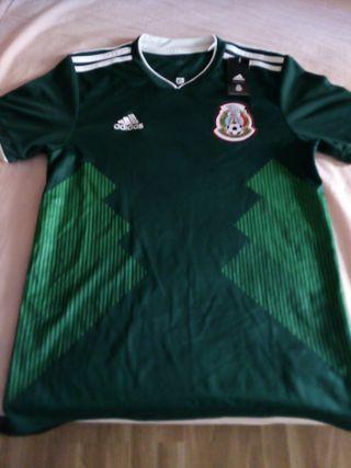 Camiseta adidas México mundial 2018