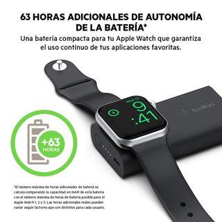 Cargador/Battery Bank Apple Watch de Belkin.
