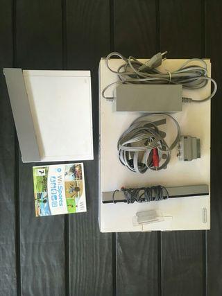 Wii + mandos + juego