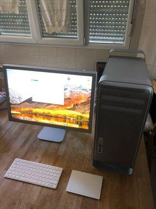 Mac Pro 32GB 250GB SSD 3,64 TB HDD 2 gráficas
