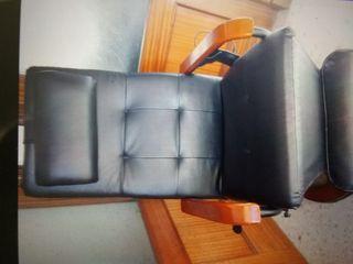 sillón de masaje giratorio