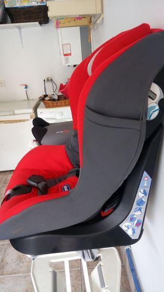 Silla de Auto Key 1 X Plus Fuego Chicco Grupo I de