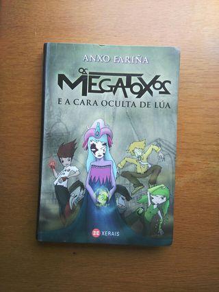 Libro Os Megatoxos e a cara de lúa de Anxo Fariña
