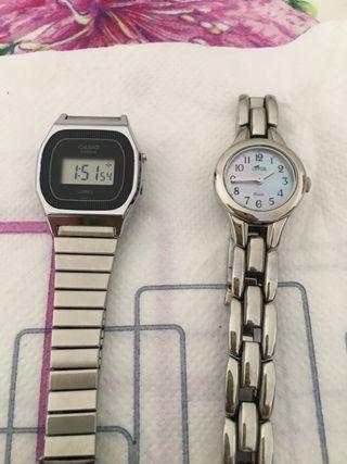 Reloj Casio y Reloj Lotus