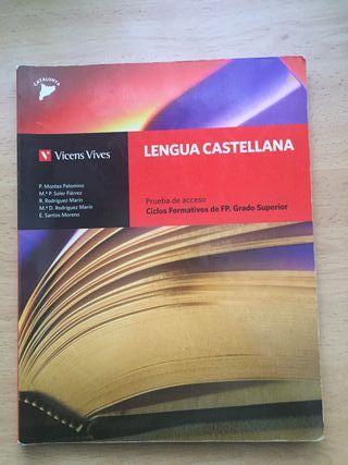 Libro de texto Lengua Castellana-Ciclos formativos