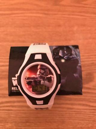 reloj Star Wars NUEVO SIN USAR