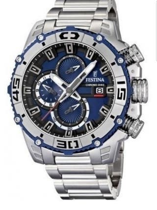 Reloj Festina Acero F16599/2 Negro Tour France