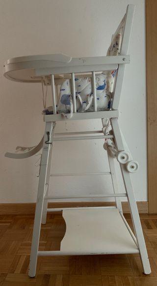 trona / silla madera Zara Home bebe