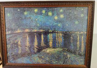 Cuadro La Noche Estrellada de Van Gogh.