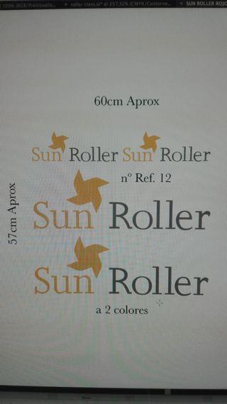 Adhesivos pegatina caravana Sun Roller
