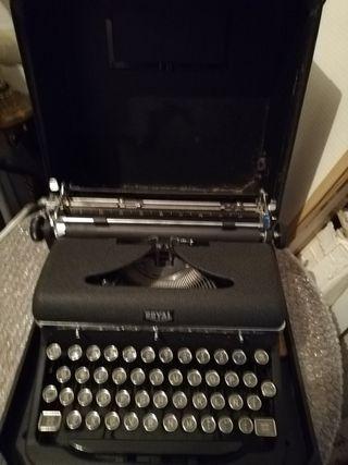 Máquina escribir Royal