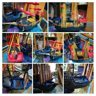 Barco pirata y corsario, Playmobil