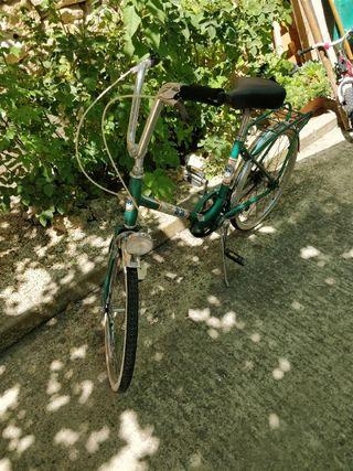 Bicicleta BH antigua de paseo plegable