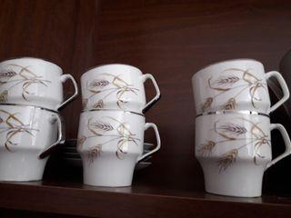 juego de té filo plateado